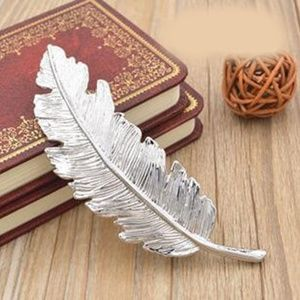 Accessories - Silver Feather Hair Clip